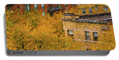 Autumn In Chicago Portable Battery Charger