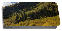 Autumn In Colorado Portable Battery Charger