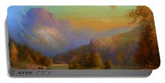 Autumn In Lake Killarney Portable Battery Charger by Joe Gilronan