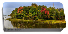 Autumn In Mabou Portable Battery Charger by Ken Morris