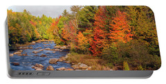 Autumn In New Hampshire Portable Battery Charger