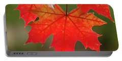 Autumn In Oregon Portable Battery Charger by Nick Boren