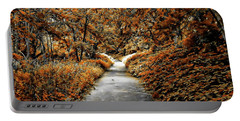 Autumn In Stamford Portable Battery Charger