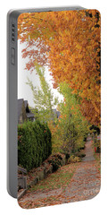 Autumn In The City Portable Battery Charger