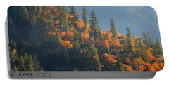 Autumn In The Feather River Canyon Portable Battery Charger