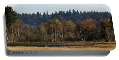 Portable Battery Charger featuring the photograph Autumn In The Nisqually Estuary  by I'ina Van Lawick