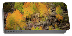 Autumn In The Uinta Mountains Portable Battery Charger