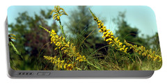 Autumn In The Wind Portable Battery Charger by Debra Forand