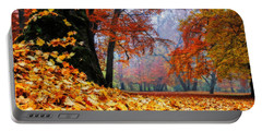 Autumn In The Woodland Portable Battery Charger
