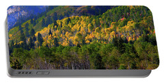 Portable Battery Charger featuring the photograph Autumn In Utah by Bryan Carter