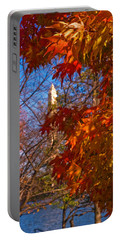 Autumn In Washington Portable Battery Charger