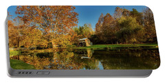 Autumn In West Virginia Portable Battery Charger by L O C