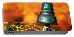 Portable Battery Charger featuring the photograph Autumn Insulator by Debbie Stahre