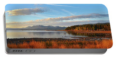 Autumn Lake Tahoe Portable Battery Charger