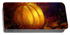 Autumn Landscape Painting Portable Battery Charger
