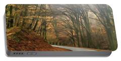 Autumn Landscape Painting Portable Battery Charger