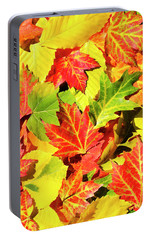 Portable Battery Charger featuring the photograph Autumn Leaves by Christina Rollo