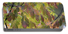Portable Battery Charger featuring the photograph Autumn Leaves by Doris Potter