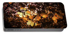 Autumn Leaves Portable Battery Charger