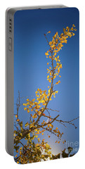 Portable Battery Charger featuring the photograph Autumn Leaves Is Changing Color During October Fall Season With  by Jingjits Photography
