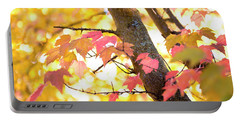 Portable Battery Charger featuring the photograph Autumn Leaves by Ivy Ho