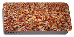 Autumn Leaves Portable Battery Charger by Marilyn Wilson