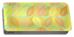 Autumn Leaves Pattern Portable Battery Charger