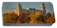 Autumn Light At Old Main Portable Battery Charger