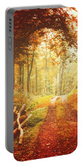 Autumn Lights Portable Battery Charger