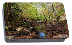 Portable Battery Charger featuring the photograph Autumn Magical Colors by Paul Mashburn
