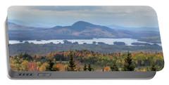 Autumn Maine Landscape Portable Battery Charger