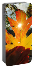 Autumn Maple Leaf Portable Battery Charger