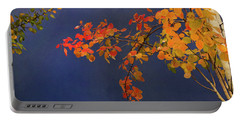Portable Battery Charger featuring the photograph Autumn Matinee by Theresa Tahara