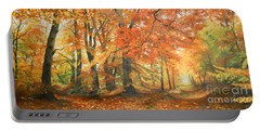 Autumn Mirage Portable Battery Charger by Sorin Apostolescu