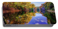 Autumn Mirror Portable Battery Charger