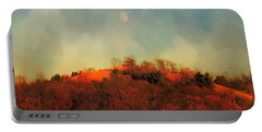 Autumn Moonrise Portable Battery Charger