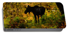 Autumn Moose Portable Battery Charger