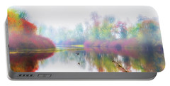 Autumn Morning Dream Portable Battery Charger