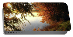 Autumn Morning  Portable Battery Charger