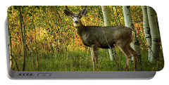 Autumn Mule Deer Portable Battery Charger