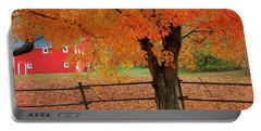 Autumn Near New Germany, Nova Scotia Portable Battery Charger