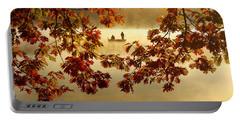 Autumn Nostalgia Portable Battery Charger