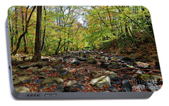 Portable Battery Charger featuring the photograph Autumn On The Clifty Creek by Paul Mashburn