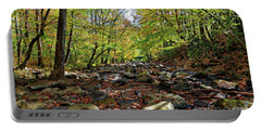 Autumn On The Clifty Creek Portable Battery Charger by Paul Mashburn