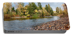 Autumn On The Molalla Portable Battery Charger