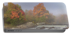 Autumn On The Moose Portable Battery Charger