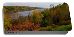 Autumn On The Penobscot Portable Battery Charger