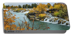 Autumn On The Snake River Portable Battery Charger