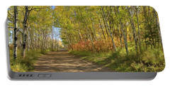 Autumn On The Trail Portable Battery Charger