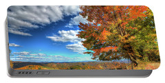 Autumn On The Windfall Portable Battery Charger